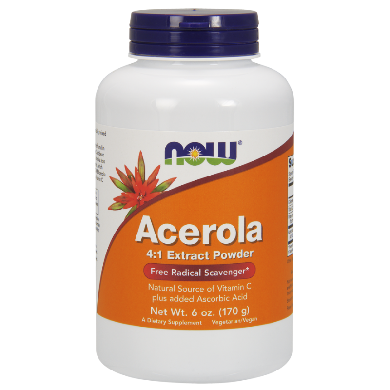 NOW ACEROLA EXTRACT POWDER 170GR