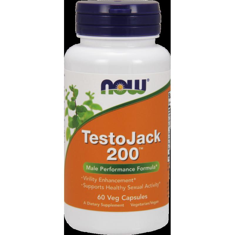 NOW TESTO JACK 200(TM)  EXTRA STRENGTH  60 VCAPS