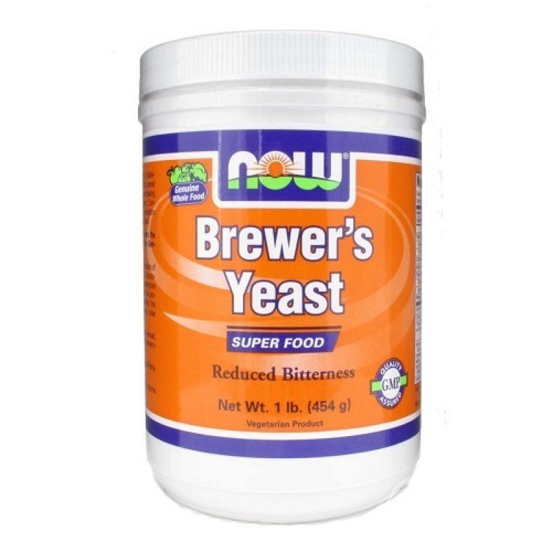 NOW BREWERS YEAST POWDER  1 LB (454 GR)