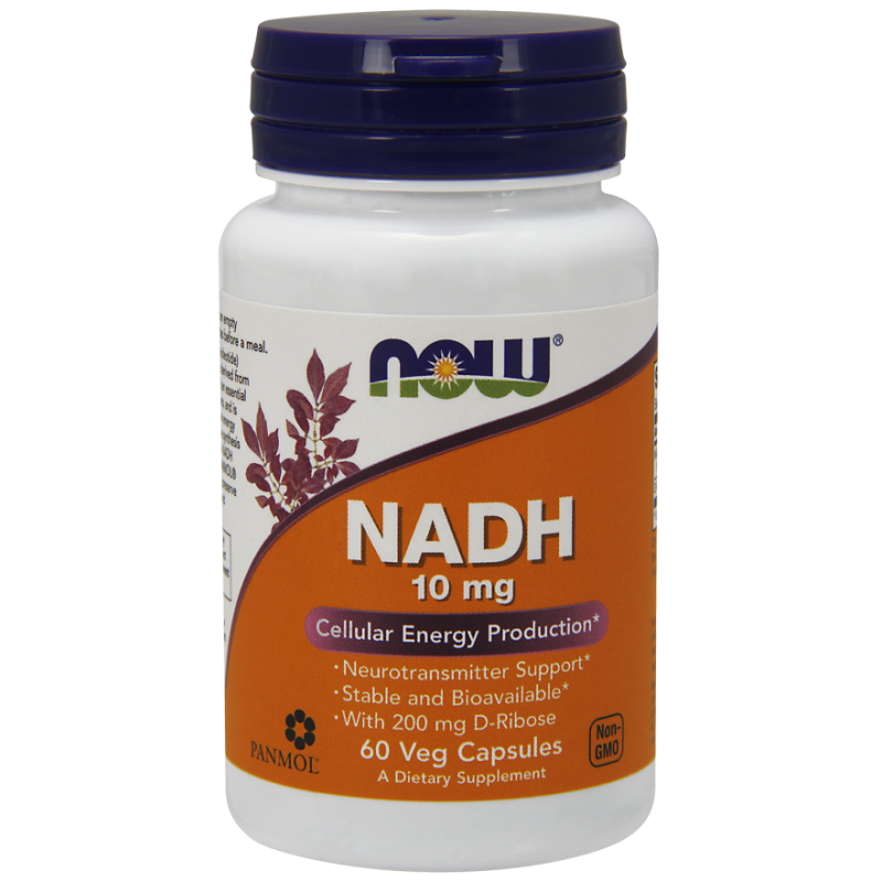 NOW NADH 10MG  60 VCAPS