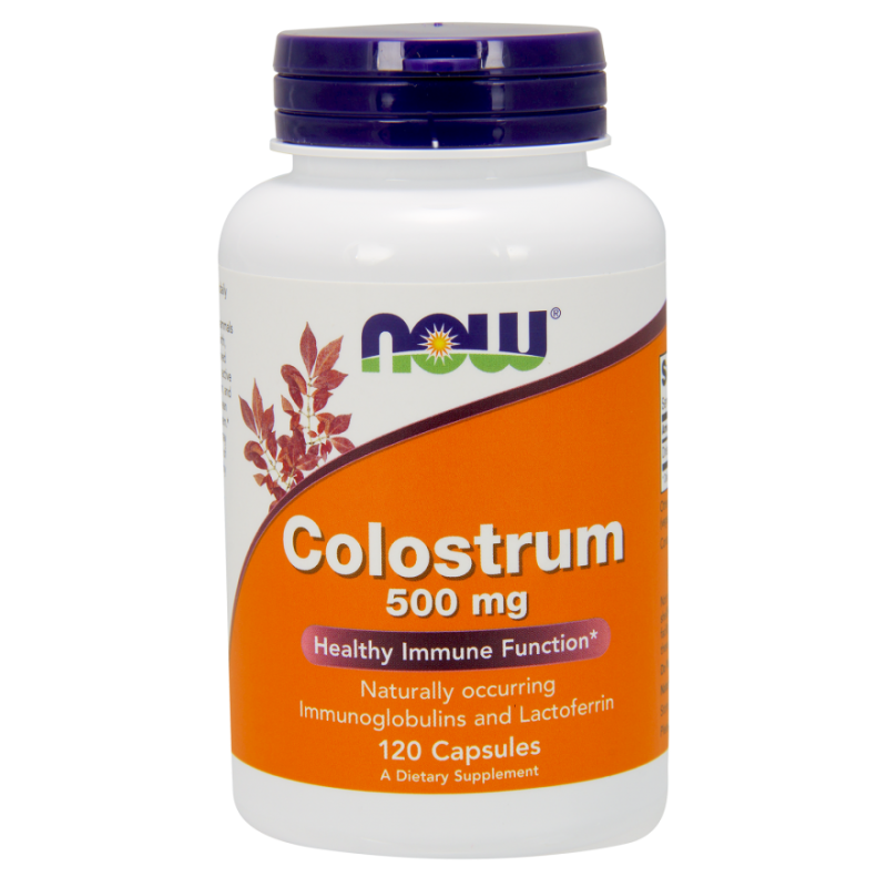 NOW COLOSTRUM 500 MG 120 VCAPS