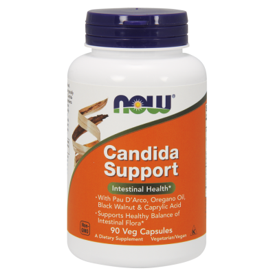 NOW CANDIDA SUPPORT 90 VEG. CAPS