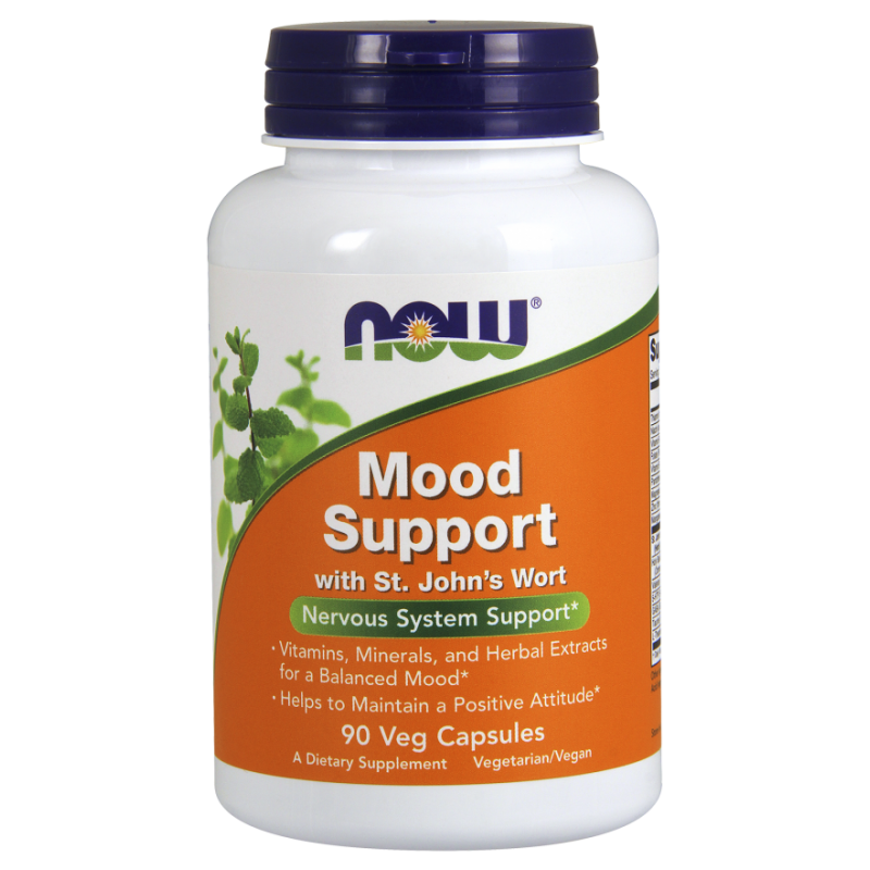 NOW MOOD SUPPORT W/ ST JOHN S WORT 90 VCAPS