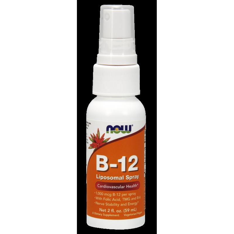 NOW B-12 LIPOSOMAL SPRAY  59,2 ml