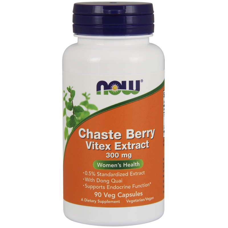 NOW CHASTE BERRY/VITEX EXTRACT 300 MG 90 VCAPS