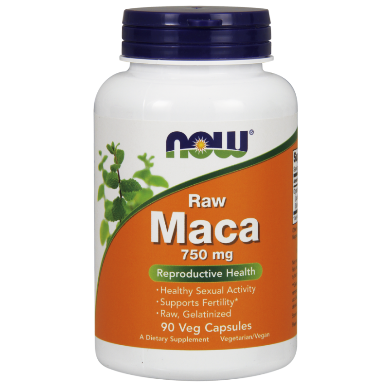 NOW MACA 750 MG (6 1 CONC) 90 VCAPS
