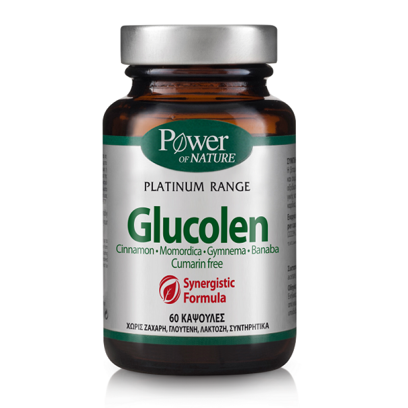 POWER HEALTH CLASSICS PLATINUM GLUCOLEN 60 caps
