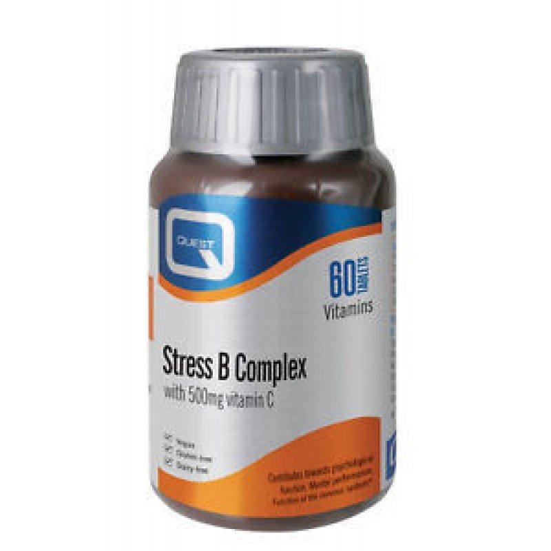 QUEST STRESS B COMPLEX 500MG C 60 TABS