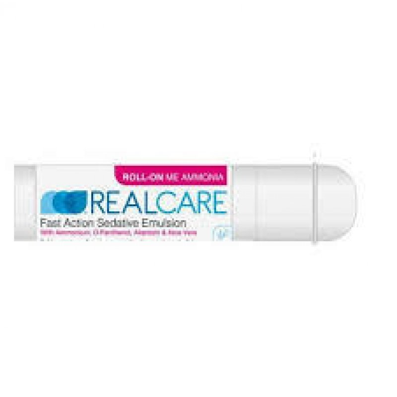 REAL CARE ROLL-ON ΜΕ ΑΜΜΩΝΙΑ 25 ML