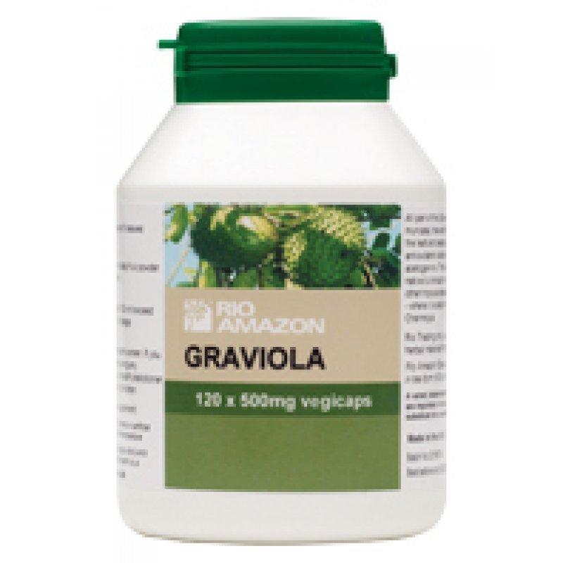 RIO TRADING GRAVIOLA  120 caps