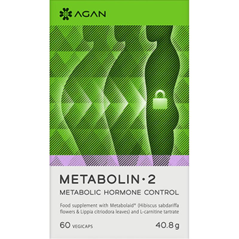 AGAN METABOLIN 2 CONTROL 60 VEGICAPS