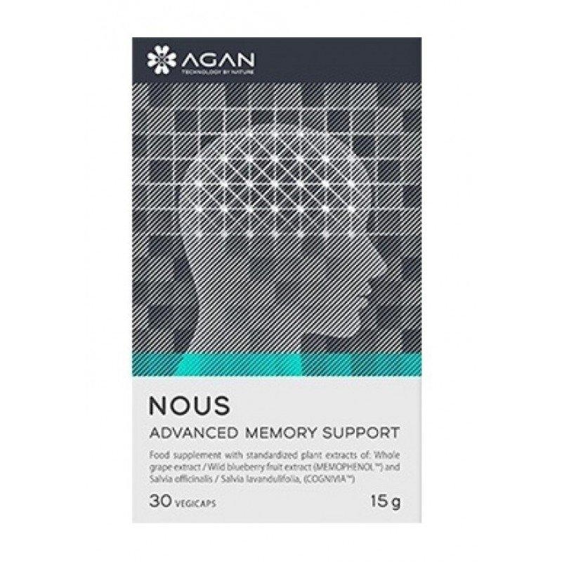 AGAN NOUS ADVANCED MEMORY SUPPORT, 30 caps