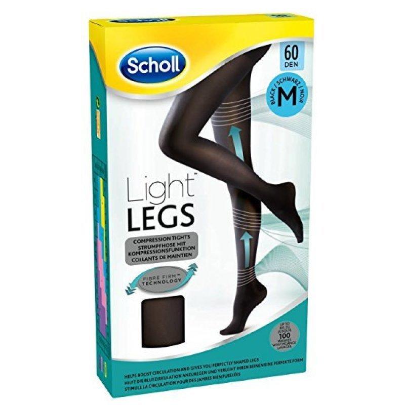 SCHOLL LIGHT LEGS 60 DEN ΧΡΩΜΑ BLACK MEDIUM