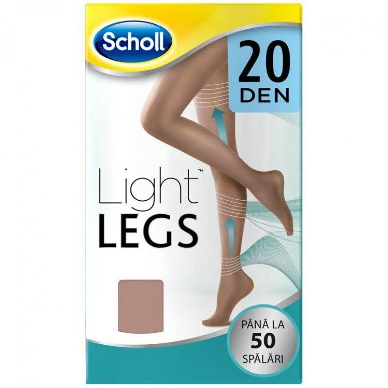 DR SCHOLL LIGHT LEGS ΚΑΛΣΟΝ ΔΙΑΒΑΘΜΙΣΜΕΝΗΣ ΣΥΜΠΙΕΣΗΣ 20DEN  ΜΠΕΖ ΧΡΩΜΑ SMALL