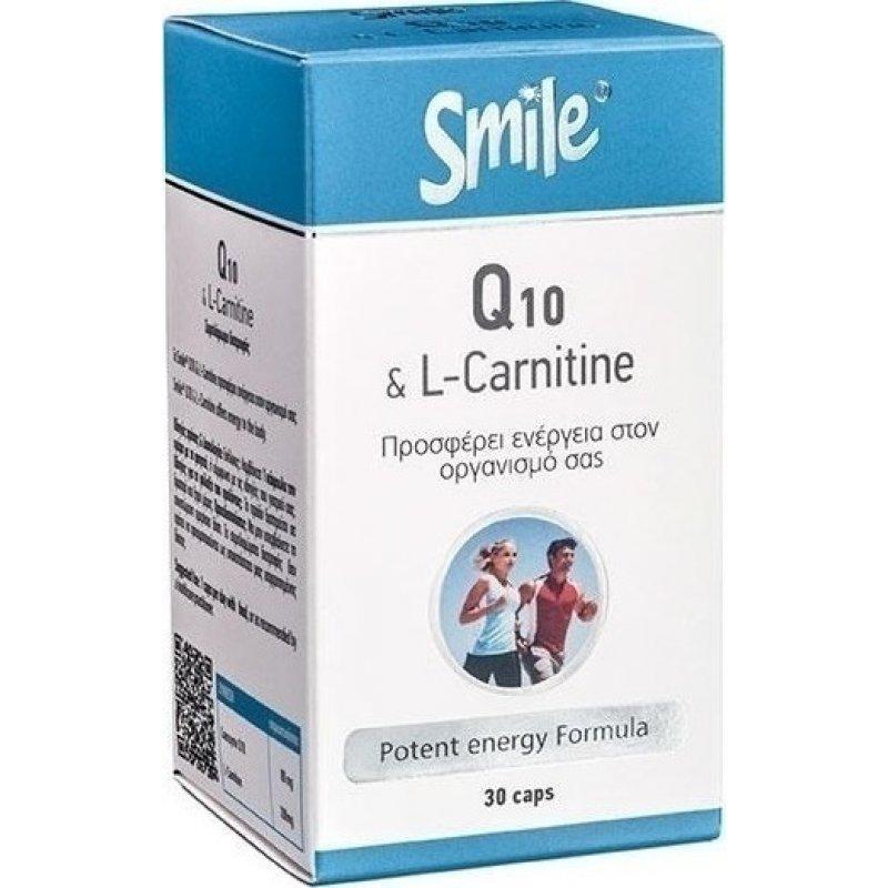 SMILE Q10 & L-CARNITINE 30CAPS