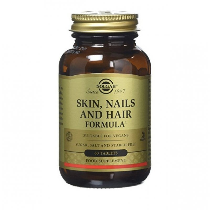 SOLGAR SKIN NAILS AND HAIR FORM. tabs 60s