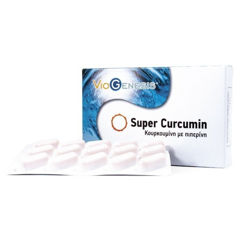 VIOGENESIS SUPER CURCUMIN 30caps