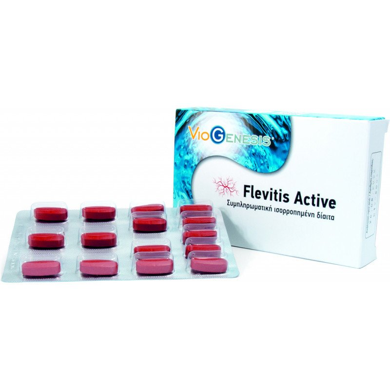 VIOGENESIS FLEVITIS ACTIVE 30TABL