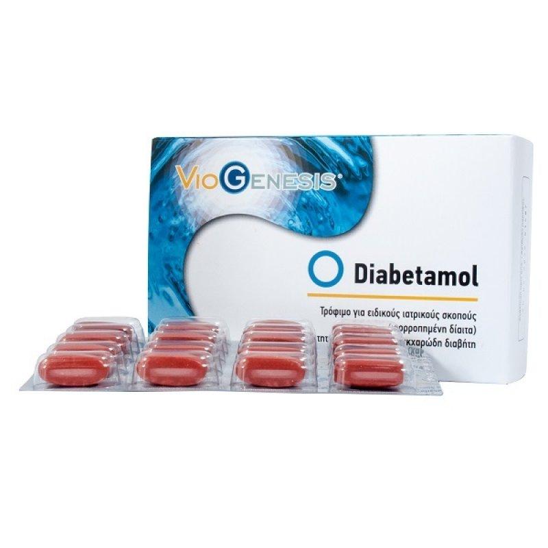 VIOGENESIS DIABETAMOL 60tabs
