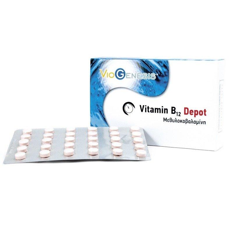 VITAMIN B12 (METHYLCOBALAMIN) 1000μg DEPOT 30tabs