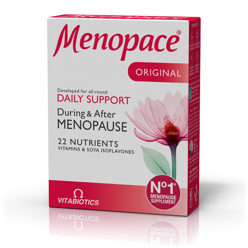 VITABIOTICS MENOPACE 30 CAPS