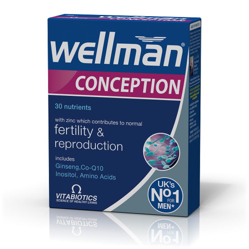 VITABIOTICS WELLMAN CONCEPTION 30 TABS
