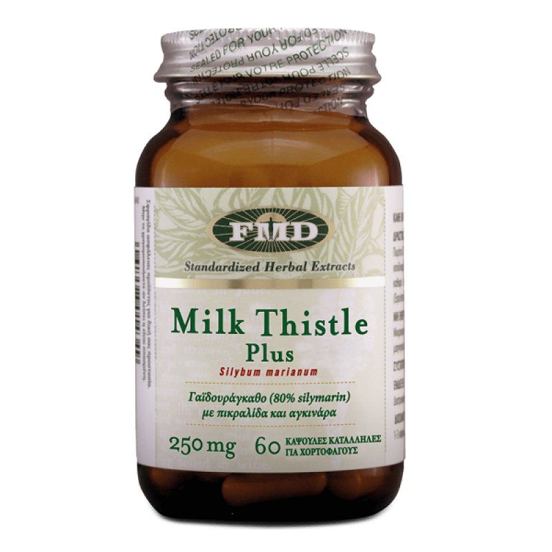 FMD MILK THISTLE PLUS 250MG 60CAPS