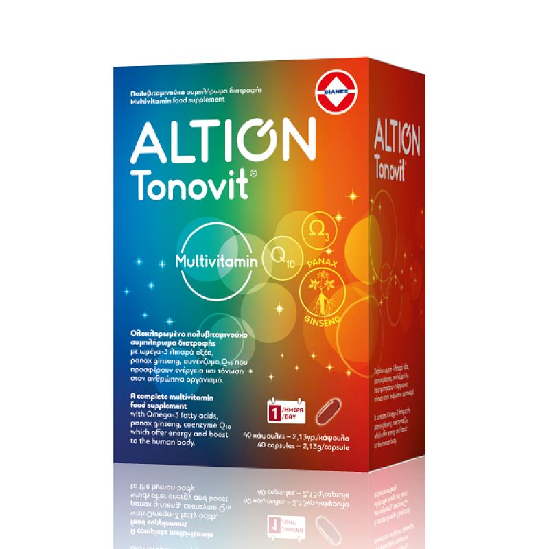 ALTION TONOVIT MULTIITAMIN  40SOFTCAPS