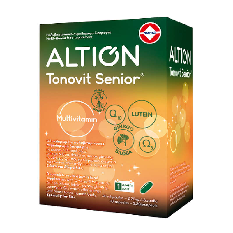 ALTION TONOVIT SENIOR 40SOFTCAPS