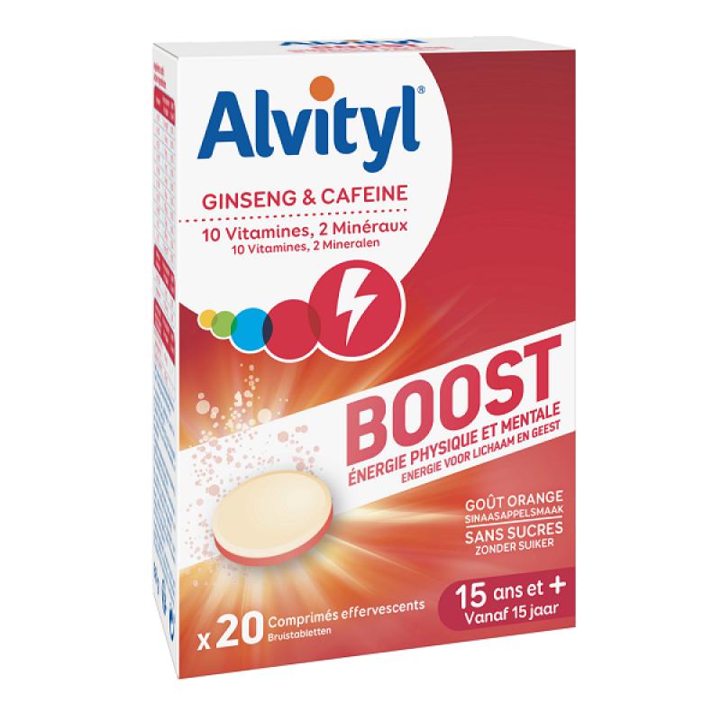 ALVITYL BOOST GINSENG AND CAFFEINE 20 TABS