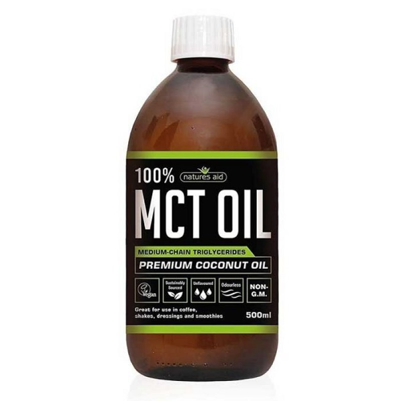 NATURES AID MCT OIL 100% 500 ML