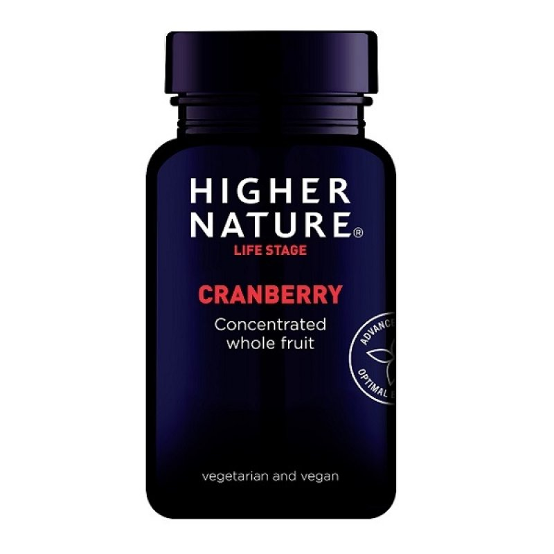 HIGHER NATURE CRANBERRY CONCENTRATED 90 GEL CAPS
