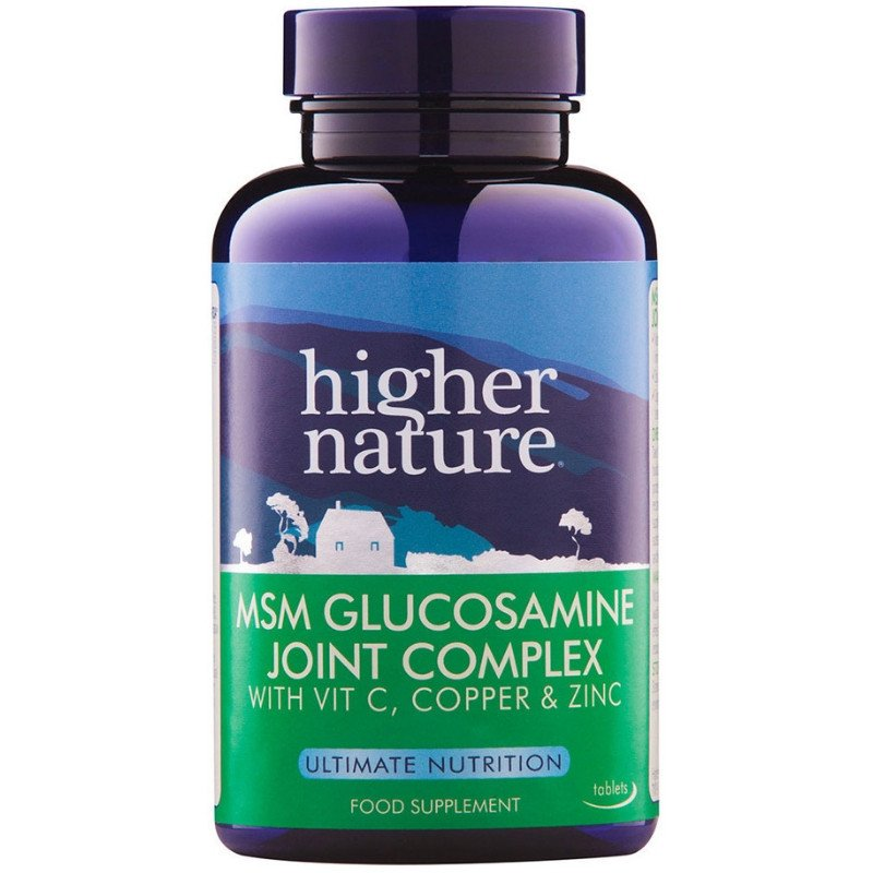 HIGHER NATURE MSM GLUCOSAMINE JOINT COMPLEX90T