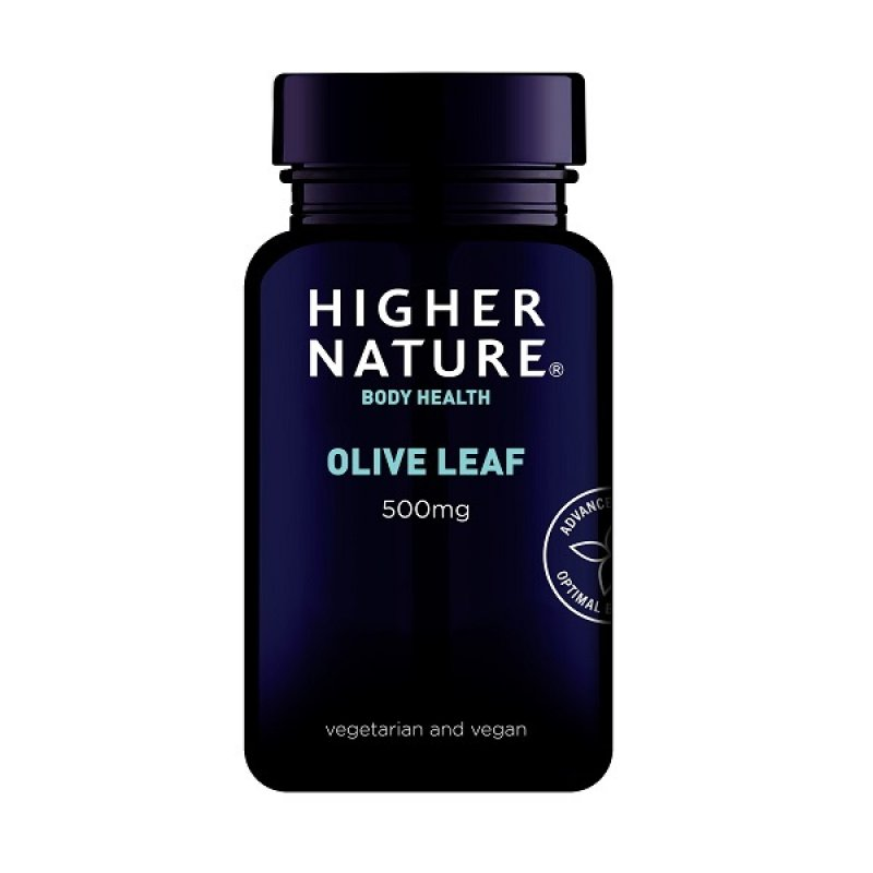 HIGHER NATURE OLIVE LEAF EXTRACT 90CAPS