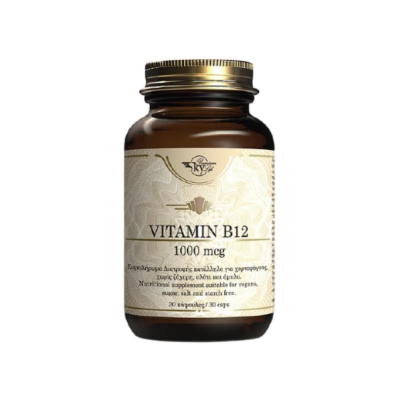 SKY PREMIUM LIFE VITAMIN B12 1000mg 60caps