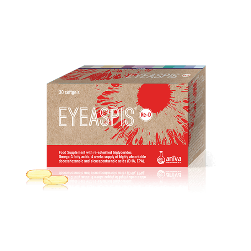 ANIVA EYEASPIS RE-D 30SOFTGELS