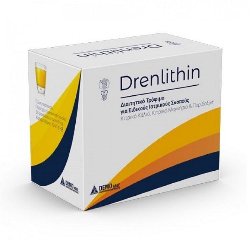 DEMO DRENLITHIN PD ORA SOL 30 Φακελάκια