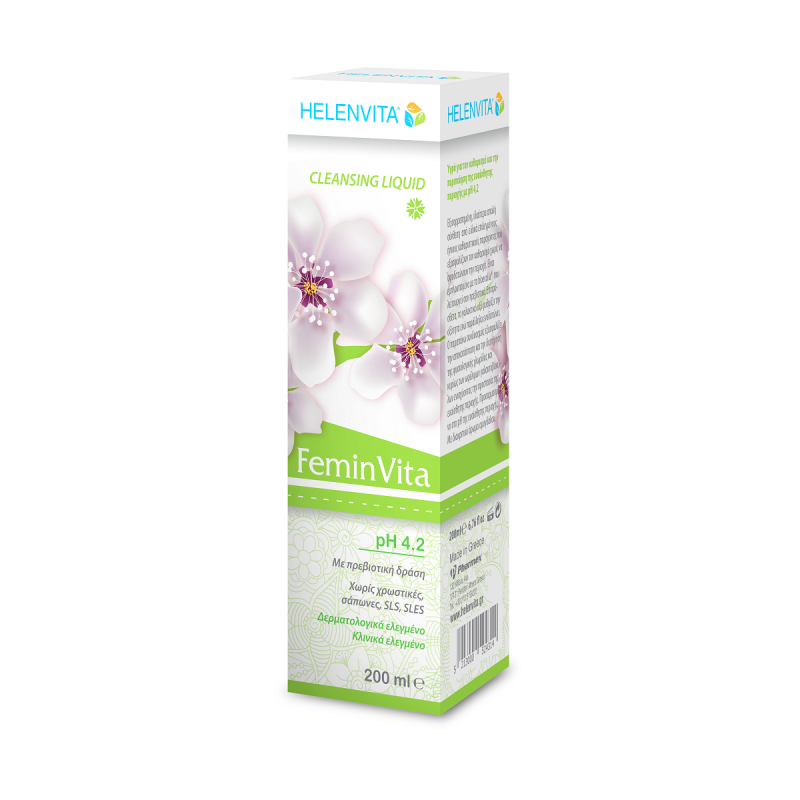 HELENVITA FEMINVITA CLEANSING LIQUID 200ML