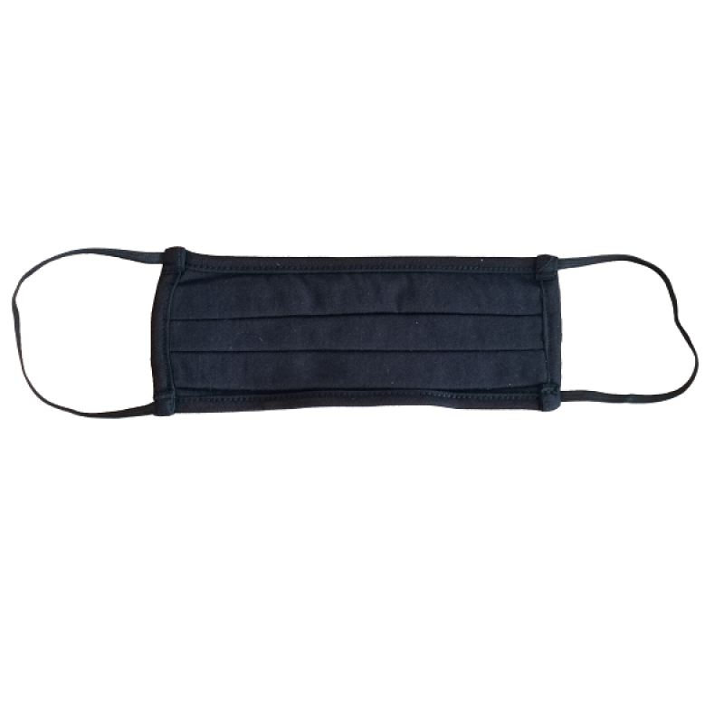 FLOST MASK DOUBLE LAYER FILTER FABRIC BLACK 1ΤΜΧ