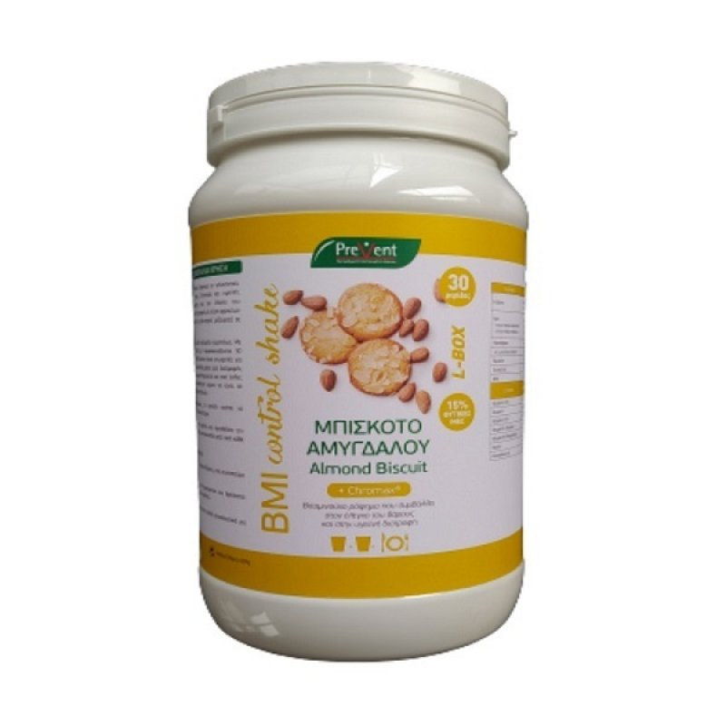 PREVENT BMI CONTROL SHAKE ALMOND BISCUIT 600GR