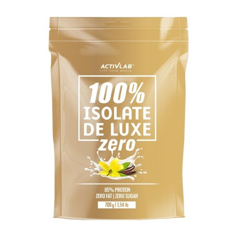 ACTIVLAB 100% ISOLATE DE LUXE ZERO 700G VANILLA