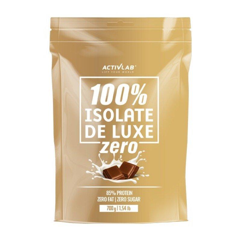 ACTIVLAB 100% ISOLATE DE LUXE ZERO 700G CHOCOLATE