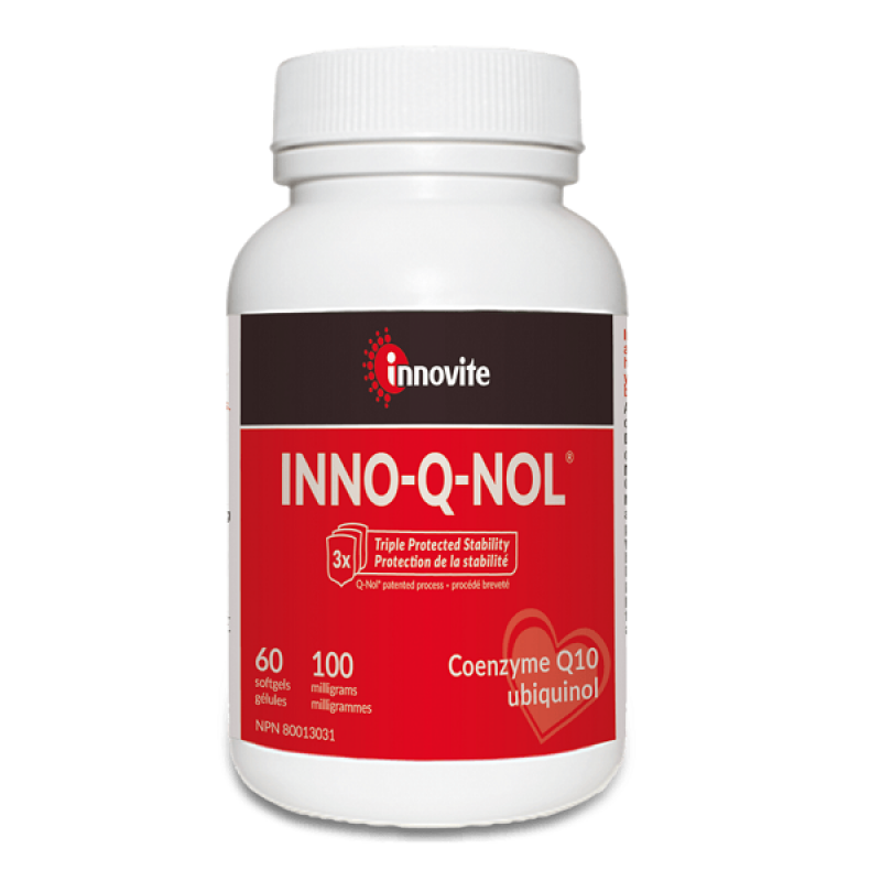 INNOVITE INNO-Q-NOL (UBIQUINOL) 100mg 60SOFTGELS