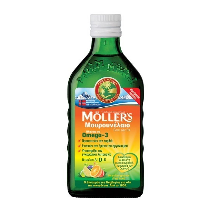 MOLLERS ΜΟΥΡΟΥΝΕΛΑΙΟ Tutti Frutti 250ml