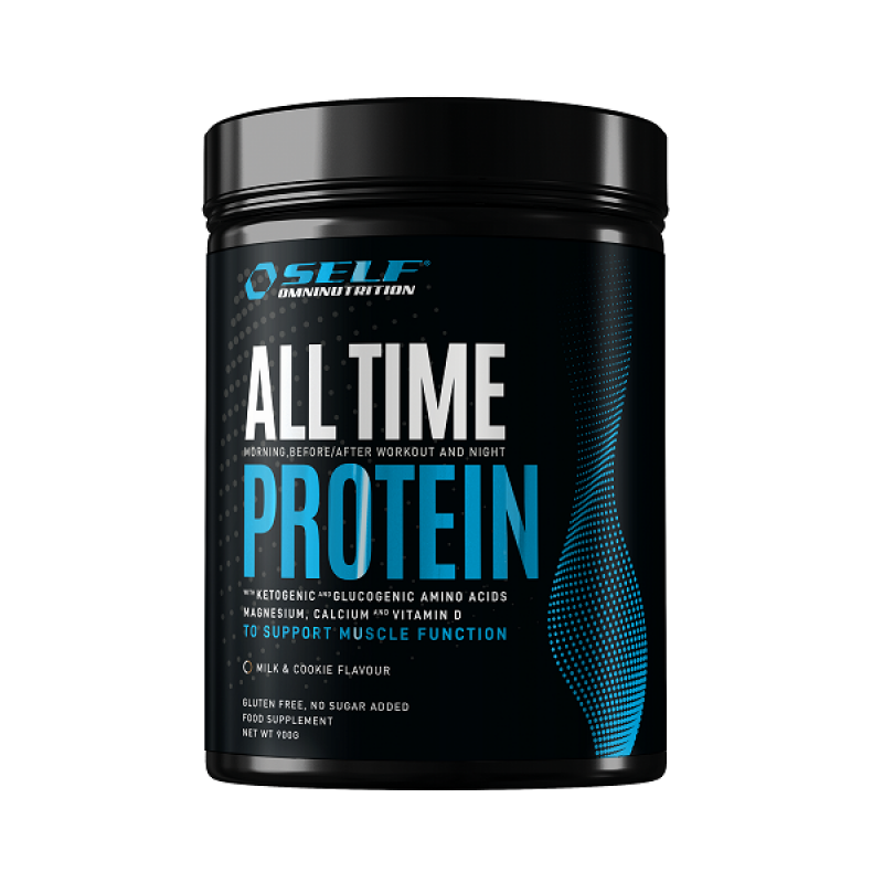 SELF OMNINUTRITION ALL TIME PROTEIN 900gr MILK & COOKIE
