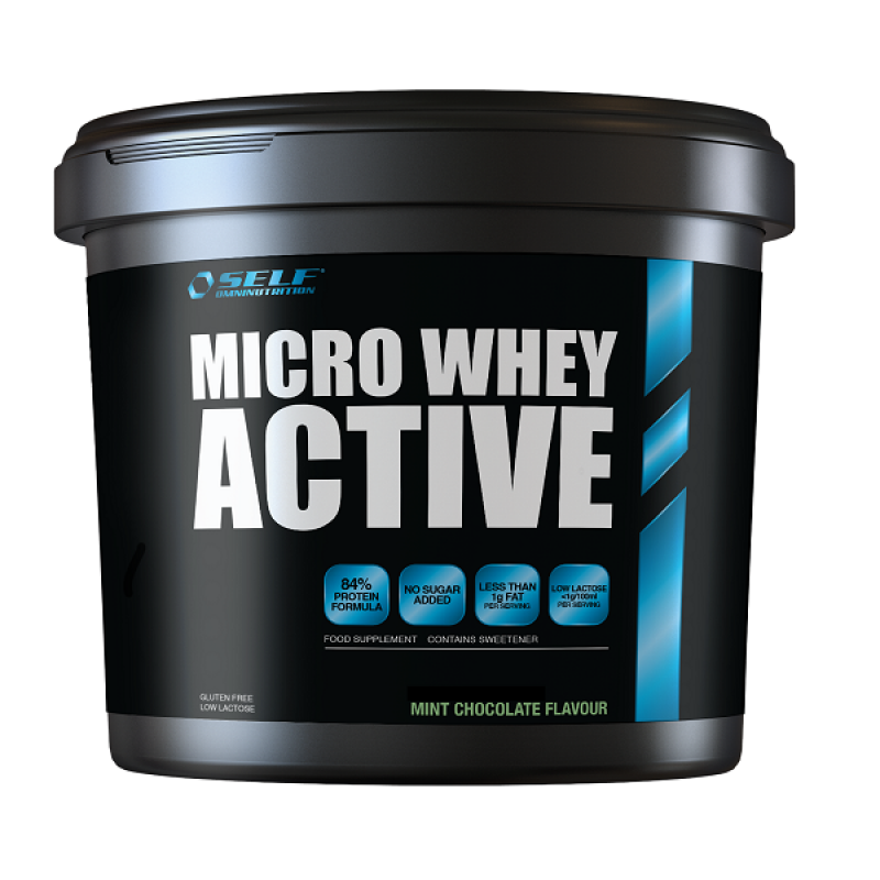 SELF OMNINUTRITION MICRO WHEY ACTIVE 2KG MINT CHOCOLATE