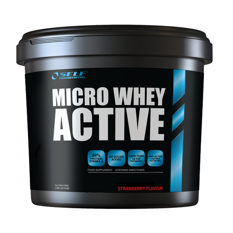 SELF OMNINUTRITION MICRO WHEY ACTIVE 4KG STRAWBERRY