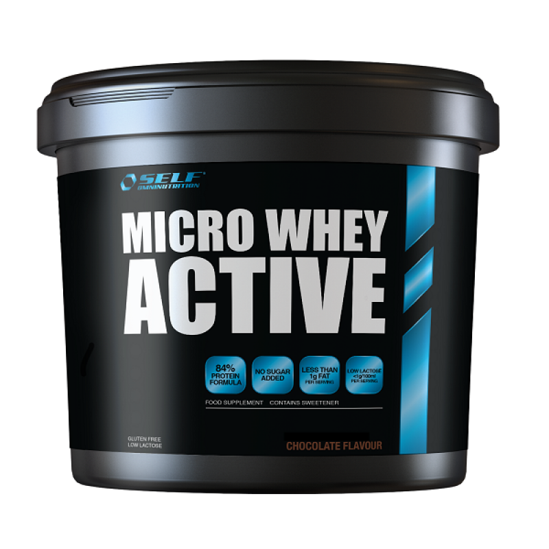 SELF OMNINUTRITION MICRO WHEY ACTIVE 4KG CHOCOLATE