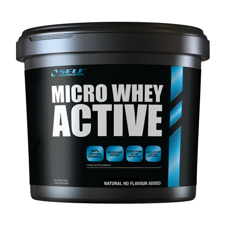 SELF OMNINUTRITION MICRO WHEY ACTIVE 1KG NATURAL