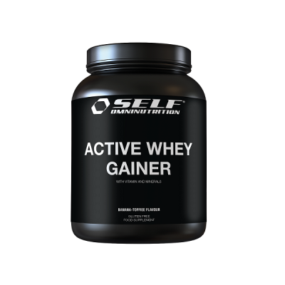 SELF OMNINUTRITION ACTIVE WHEY GAINER 2KG TOFFE BANANA